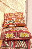 Handmade cushions, Morocco — Stock Photo
