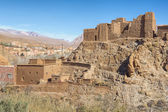 Ancient casbah building, Morocco — Stock Photo