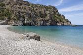 Achata plage sur l'île de karpathos, Grèce — Photo
