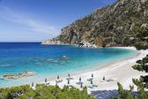 Apella beach on Karpathos island, Greece — Stock Photo