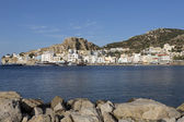 The town of Pigadia on Karpathos, Greece — Stock fotografie