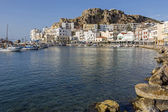 The town of Pigadia on Karpathos, Greece — ストック写真