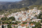 The town of Aperi on Karpathos island, Greece — Stock Photo