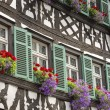 Half timbered house in upper Franconia, Germany — Stock Photo #50364371