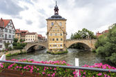 Old town hall in Bamberg, Germany — Stock Photo