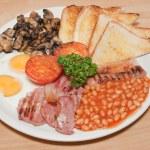 engelsk frukost — Stockfoto
