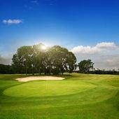 Golf. eiland bali — Stockfoto