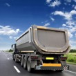 Freight truck on the road — Stock Photo #27302685