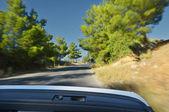 Caminhão na estrada de asfalto. — Foto Stock