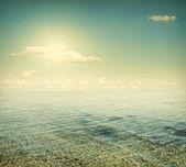 The sea — Stock Photo