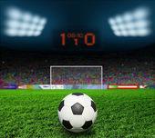Piłka nożna bal — Zdjęcie stockowe