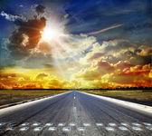 道を開く — ストック写真