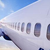 飞机 — 图库照片