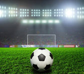 Soccer bal.football, — Stock Photo