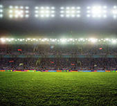 Stadium lights  — Stock Photo