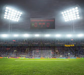 Stadium with fans — Stock Photo