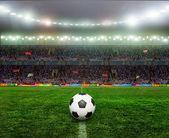 Soccer bal.football, — Stock Photo