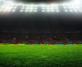 On the stadium.  — Foto Stock