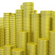 Stacks of coins — Stock Photo
