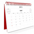 Royalty-Free Stock Photo: Calendar 2013