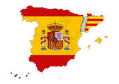 Catalonian independence — Stock Photo