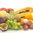 Delicious fresh fruits — Stockfoto #18710081