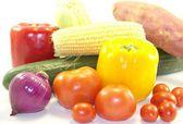 Fresh healthy vegetables — Stock Photo