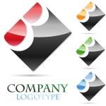 Logo initial letter B # Vector — Stock Vector #12244490