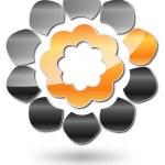 Abstract Logo Flower #Vector — Stock Vector #12246821