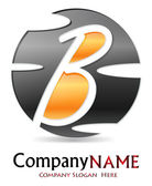 логотип буква b # вектор — Cтоковый вектор