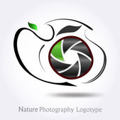 Nature Photography company logo #vector — Stock Vector