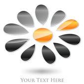 Abstract Logo Flower #Vector — Stock Vector
