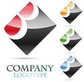 логотип буквица b # вектор — Cтоковый вектор