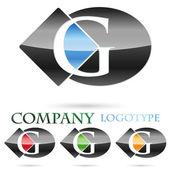 Logo initial letter G # Vector — Stock Vector