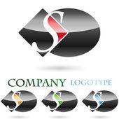 Logo initial letter S # Vector — Stock Vector