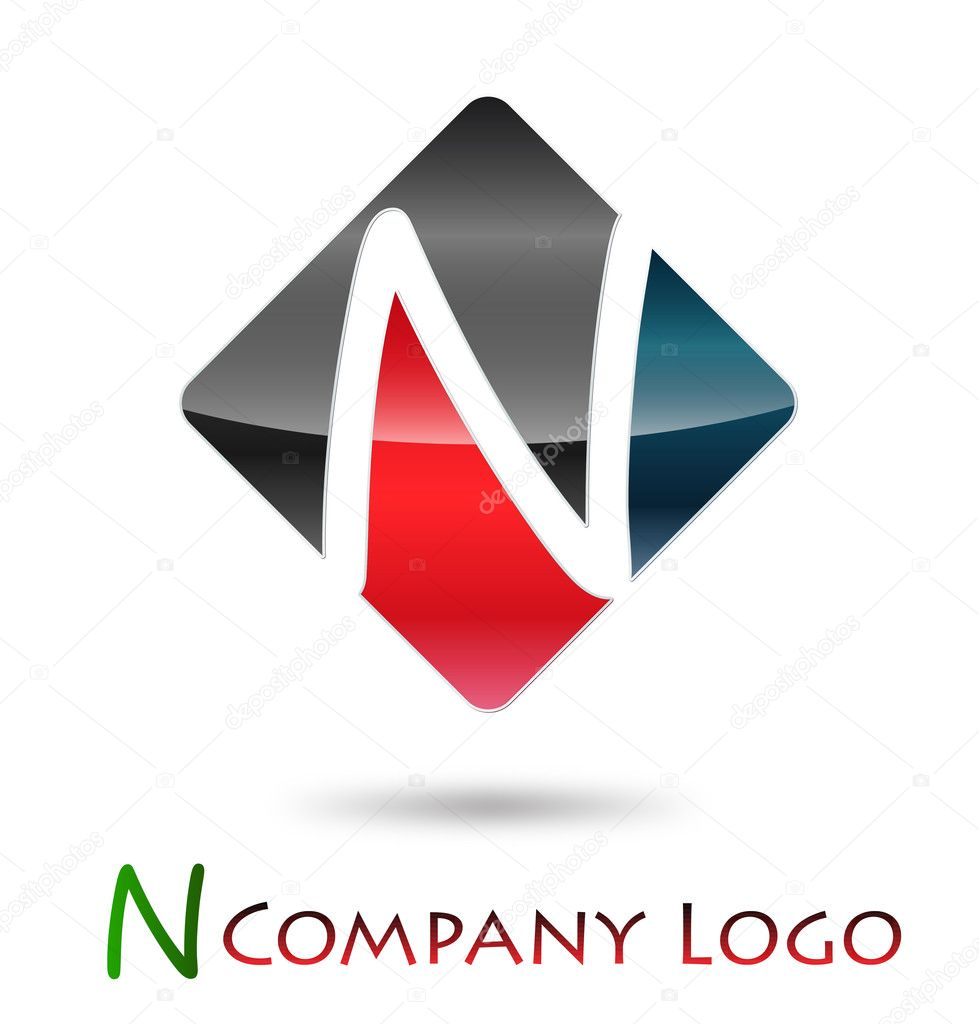 Logo initial let...N Company Logos