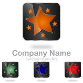 Abstract Star Company Logo #Vector — Stock Vector