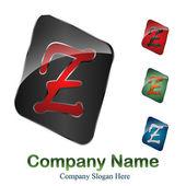 Logo initial letter Z # Vector — Stock Vector