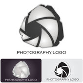 Entreprise de photographie logo #vector — Vecteur