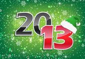 2013, Happy new year — Stock Vector