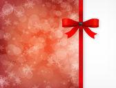 Magical Christmas card. — Stock Vector