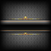 Black Luxury Background. — Stock Vector