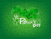 Saint Patricks Day Background — Vettoriale Stock