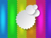 多彩背景与文本的空间 — 图库矢量图片