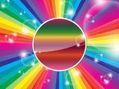 Bright multicolored background — Stock Vector