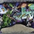 Big Graffiti Panorama — Stock Photo