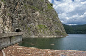 Vidraru dam Lake — Stock Photo