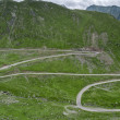 Mountain road on the Transfagarasan — Lizenzfreies Foto