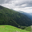 mountain road on the transfagarasan — Stock Photo
