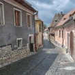 Old street of residential buildings. — Stock Photo #29366783